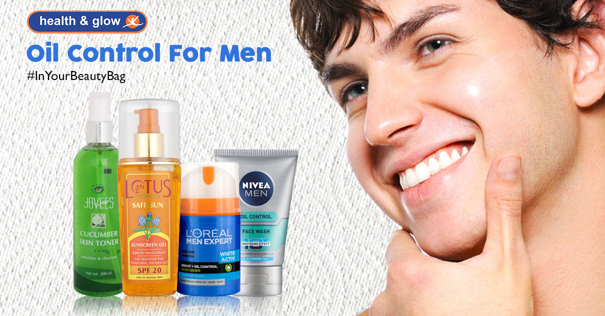 Oil Control For Men