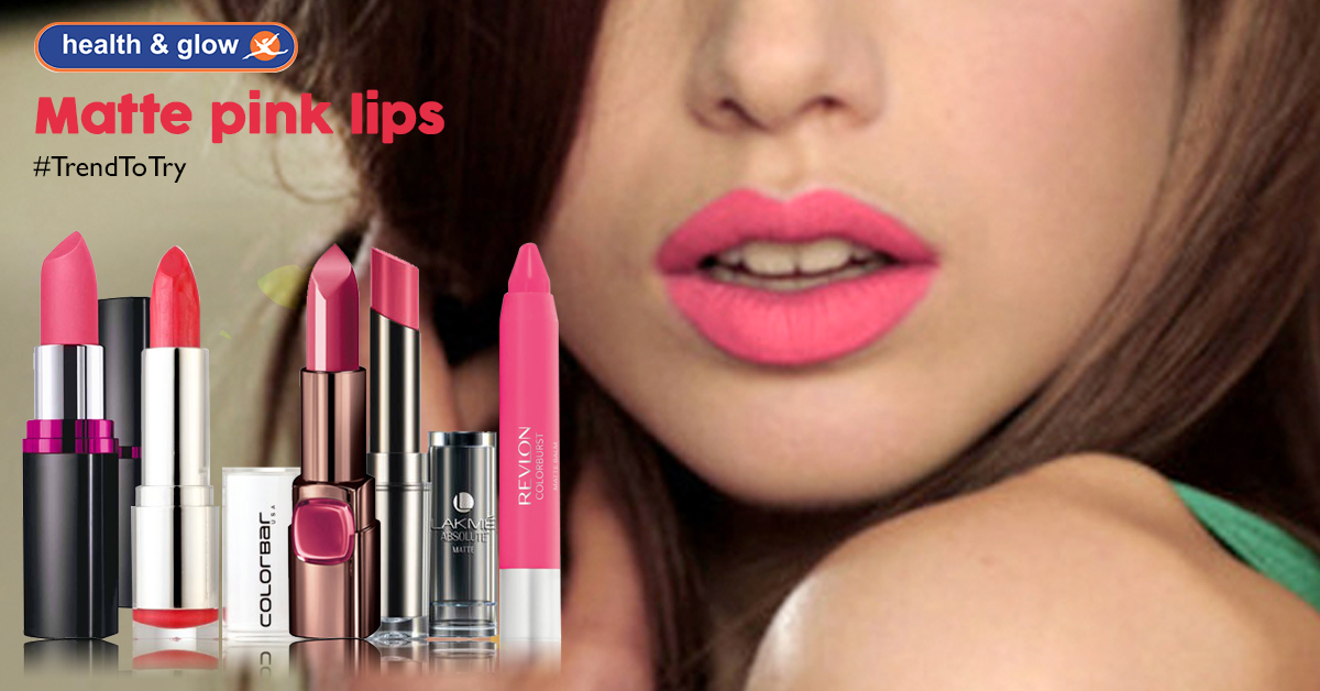 Classic Pink Lips With A Twist