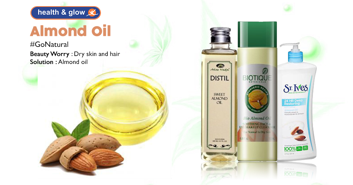 Cure Dry Skin With Almond Oil