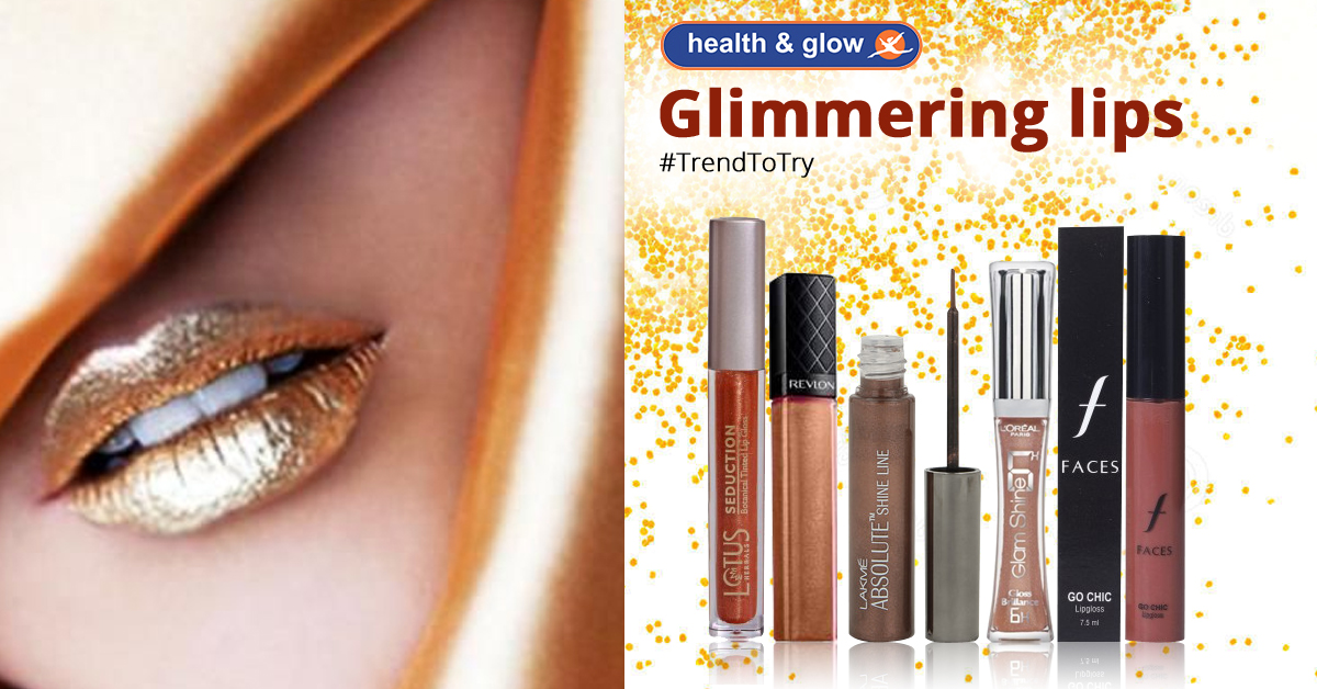 Glimmering Lips, A Trend To Try