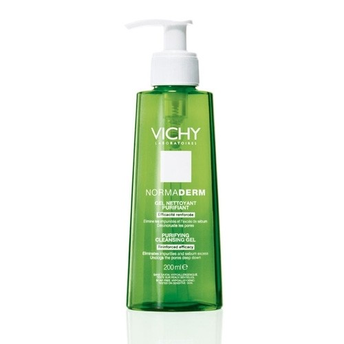 Vichy Normaderm Deep Cleansing Purifying Gel, Deep Cleansing Gel, Vichy cleansing gel , Oily Skin