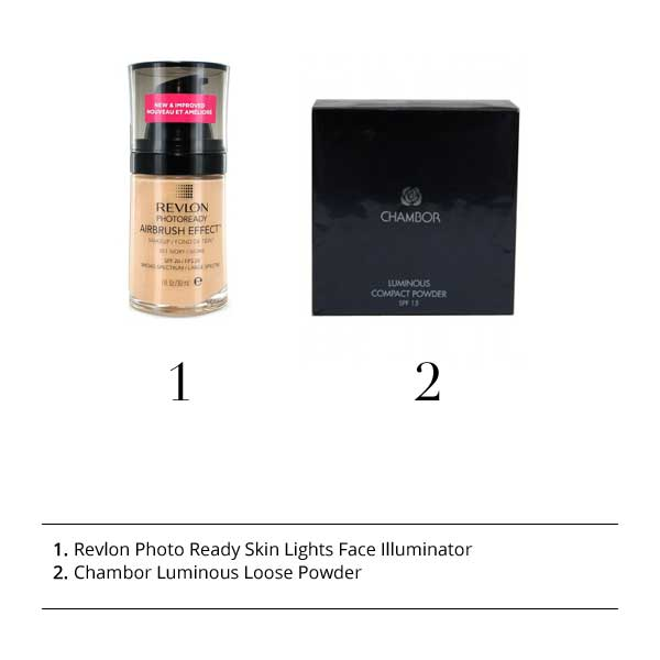 Revlon Photo Ready Skin Lights Face Illuminator, Chambor Luminous Loose Powder