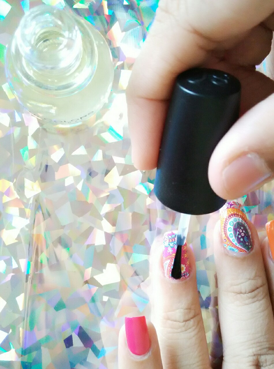 Bright Summer Water Decal Nails! - Health & Glow
